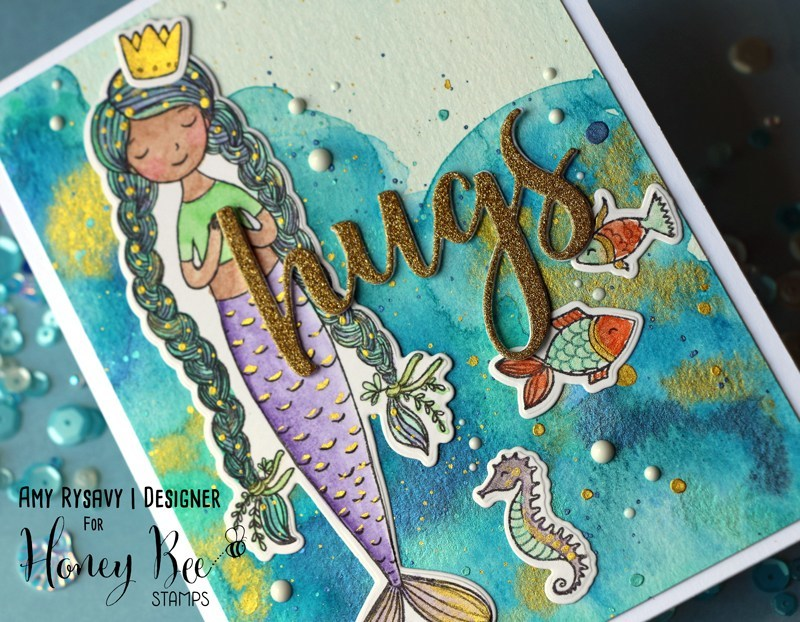 Honey Bee Stamps - Under The Sea | Honey Cuts | Steel Craft Dies