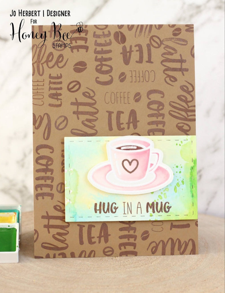 Honey Bee Stamps - Tea Time | 4x6 Stamp Set