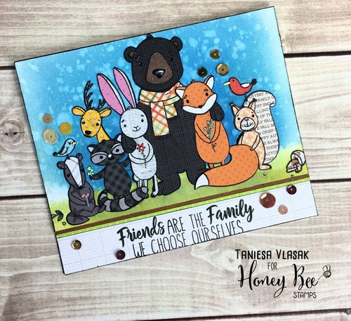 Honey Bee Stamps - Gather Together | Honey Cuts | Steel Craft Dies