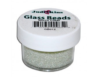 Judikins Micro Clear Glass Beads - .5oz
