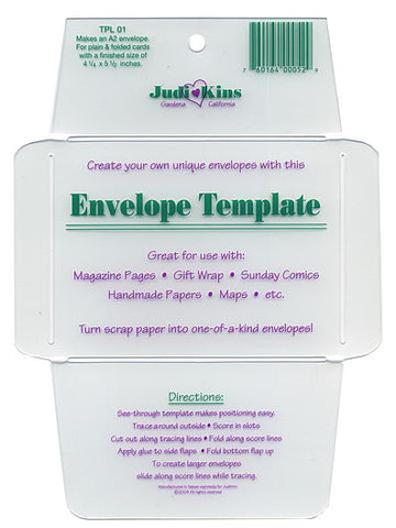 Judikins - Envelope Templates