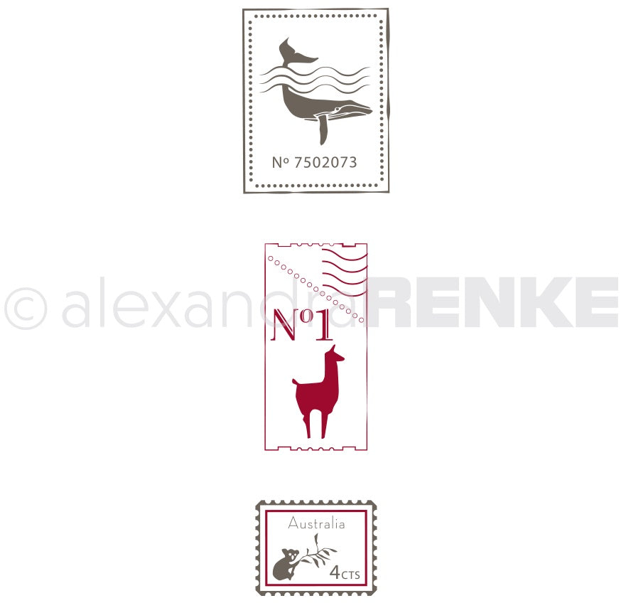 Alexandra Renke - Clear Stamps - International