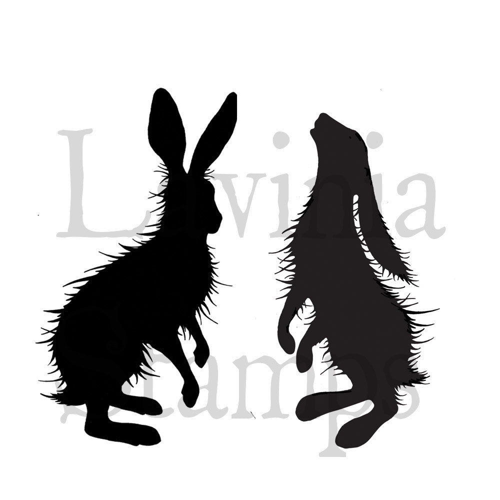 BF17 - Lavinia Stamps - Animals & Insects - Woodland Hares
