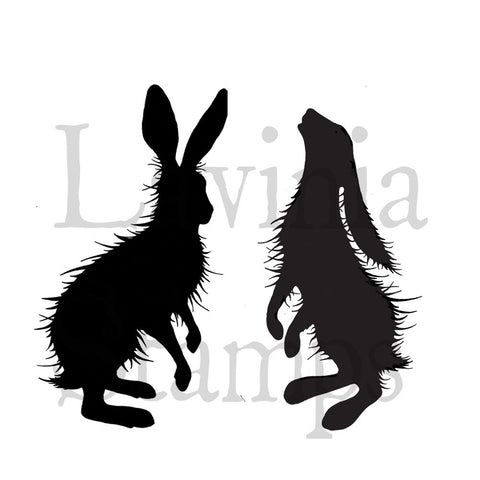 Lavinia Stamps - Animals & Insects - Woodland Hares