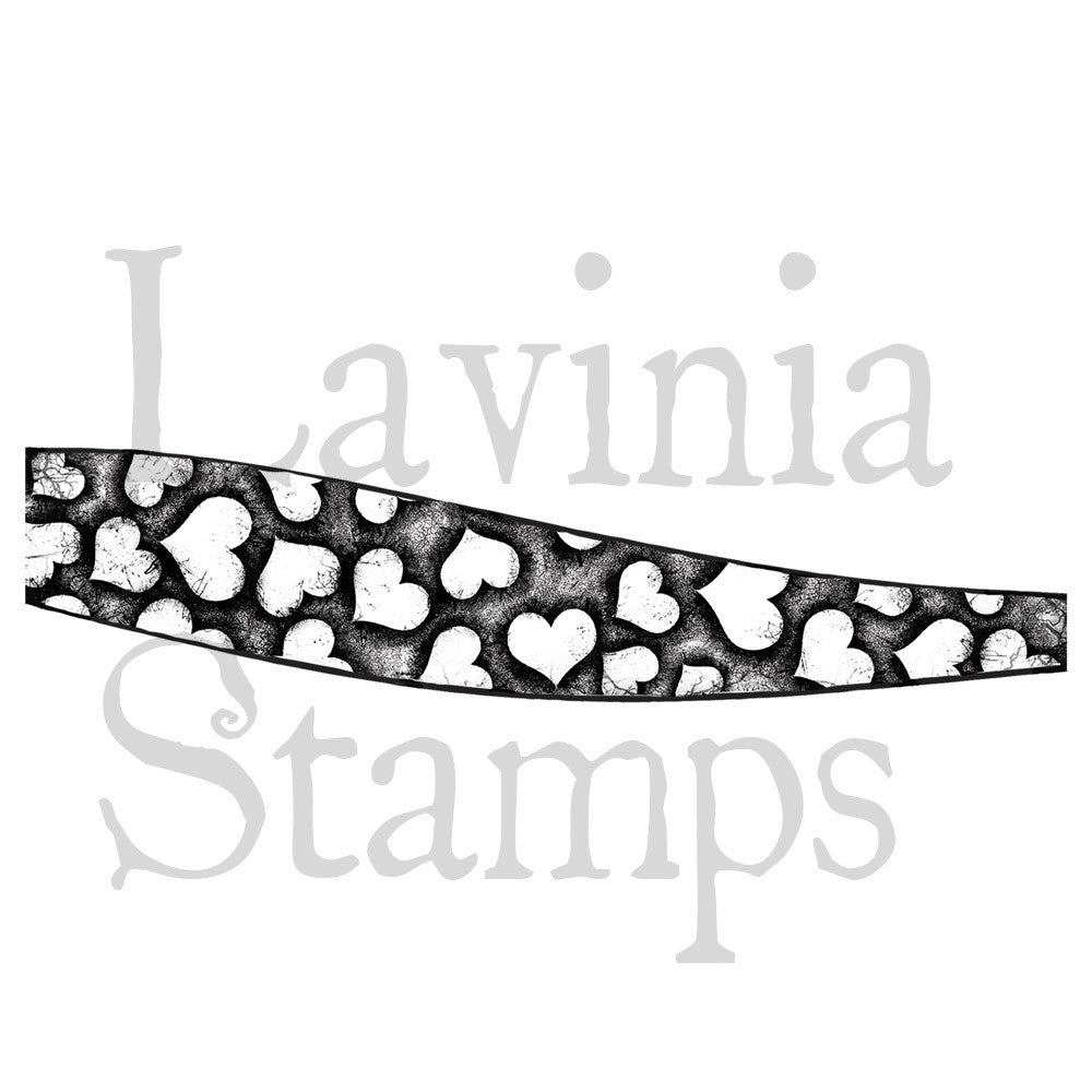 Lavinia Stamps - Hill Border - Heart