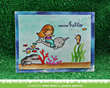 "Lawn Fawn - Clear Stamps - Mermaid For You (coordinates with ""Mermaid For You"" Lawn Cuts Dies)"