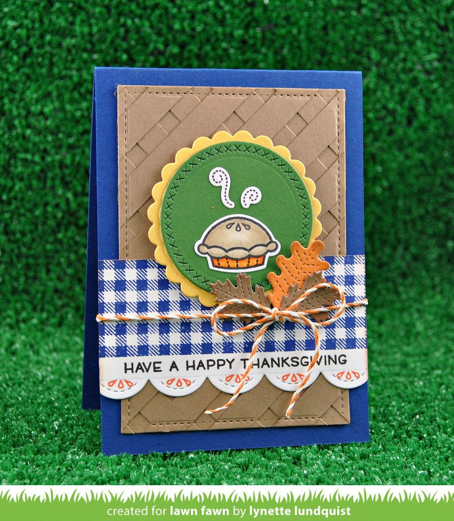 "Lawn Fawn - 2"" x 3"" Clear Stamp Set - Cutie Pie"