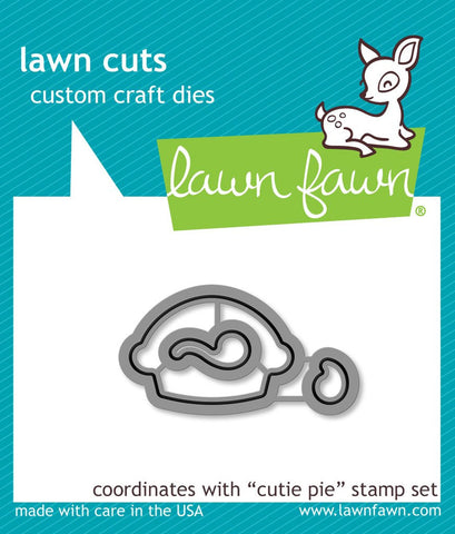 "***New Item*** Lawn Fawn - Lawn Cuts Custom Craft Dies - Cutie Pie (coordinates with ""Cutie Pie"" Stamp Set)"