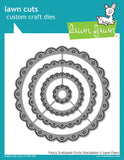 Lawn Fawn - Lawn Cuts Custom Craft Dies - Fancy Scalloped Circle Stackables