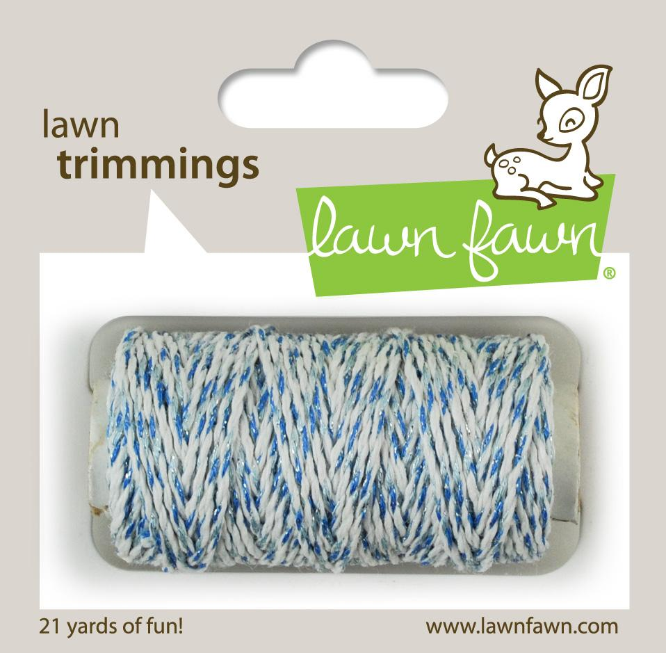 Lawn Fawn - Lawn Trimmings - Ocean Sparkle