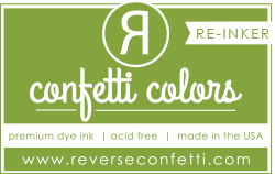 Reverse Confetti - Dye Re-Inker - Lime Green
