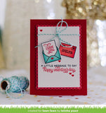 "Lawn Fawn Clear Stamps 4""X6"" - Love Letters (coordinates with Love Letters Dies Set)"