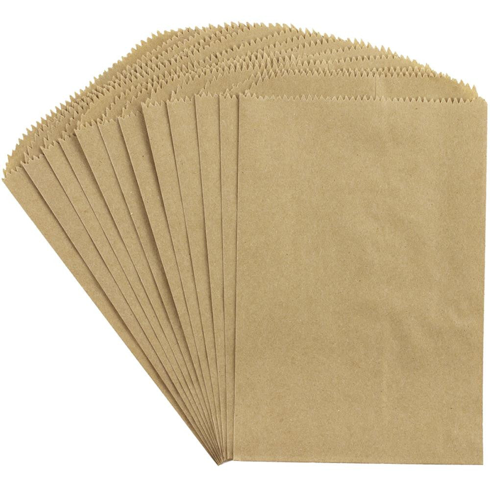 "Kraft Medium Paper Bags from Canvas Corp 12 bags to Package 4 3/4"" x 6 3/4"" Mini Album"
