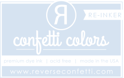 ***New Item*** Reverse Confetti - Dye Re-Inker - Mist
