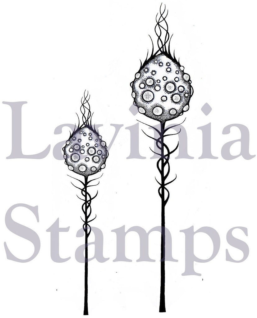 BF17 - Lavinia Stamps - Flowers and Foliage - Moon Pods