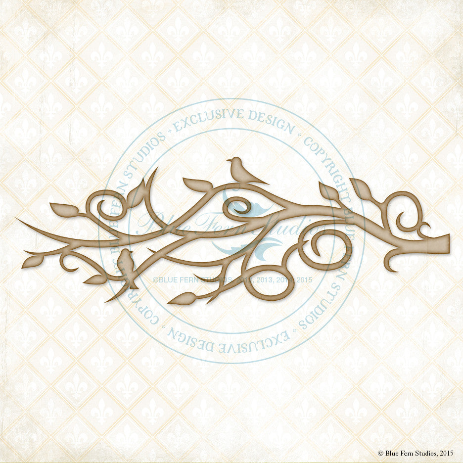 Blue Fern Studios - Chipboard - Mystic Branch