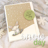 "Newton's Nook Designs 4"" x 6"" Clear Stamps - Snow Day"