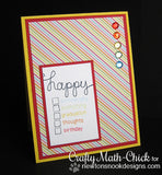 "Newton's Nook Designs 4"" x 6"" Clear Stamps - Simply Sentimental"