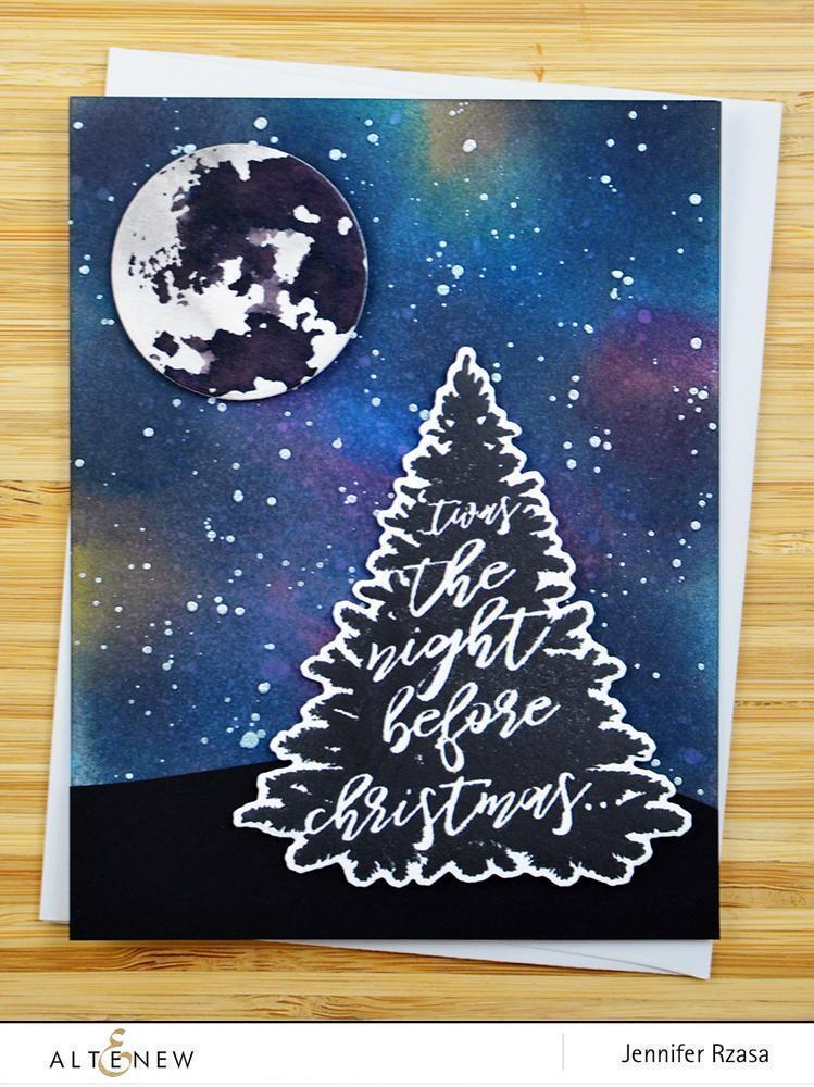 Altenew Night Before Christmas Stamp Set