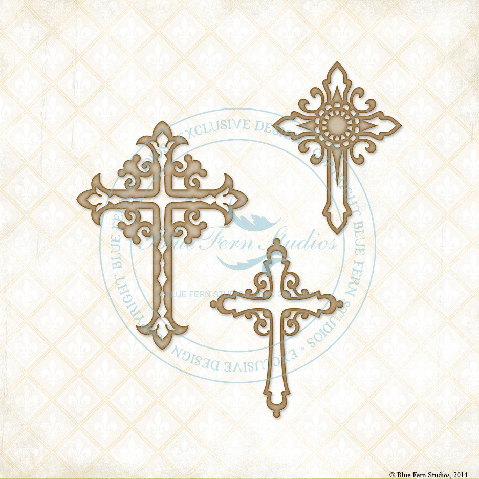 Blue Fern Studios - Ornate Crosses
