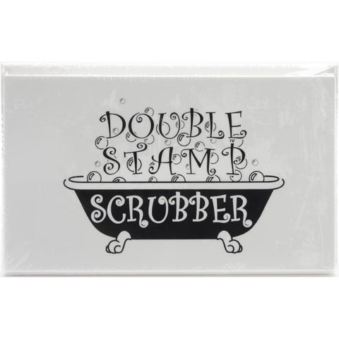 "Stewart Superior - Double Scrubber Stamp Scrubber 7 1/2"" x 5"" Scrubber pad Top and Bottom"