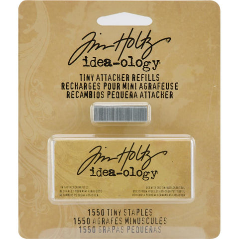 "Tim Holtz Idea-Ology Tiny Attacher Refills with 1,500 .25"" Staples"
