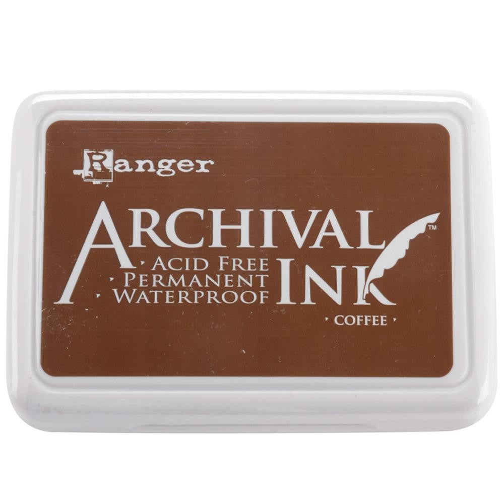 Ranger- Archival Ink Pad #0 - Coffee