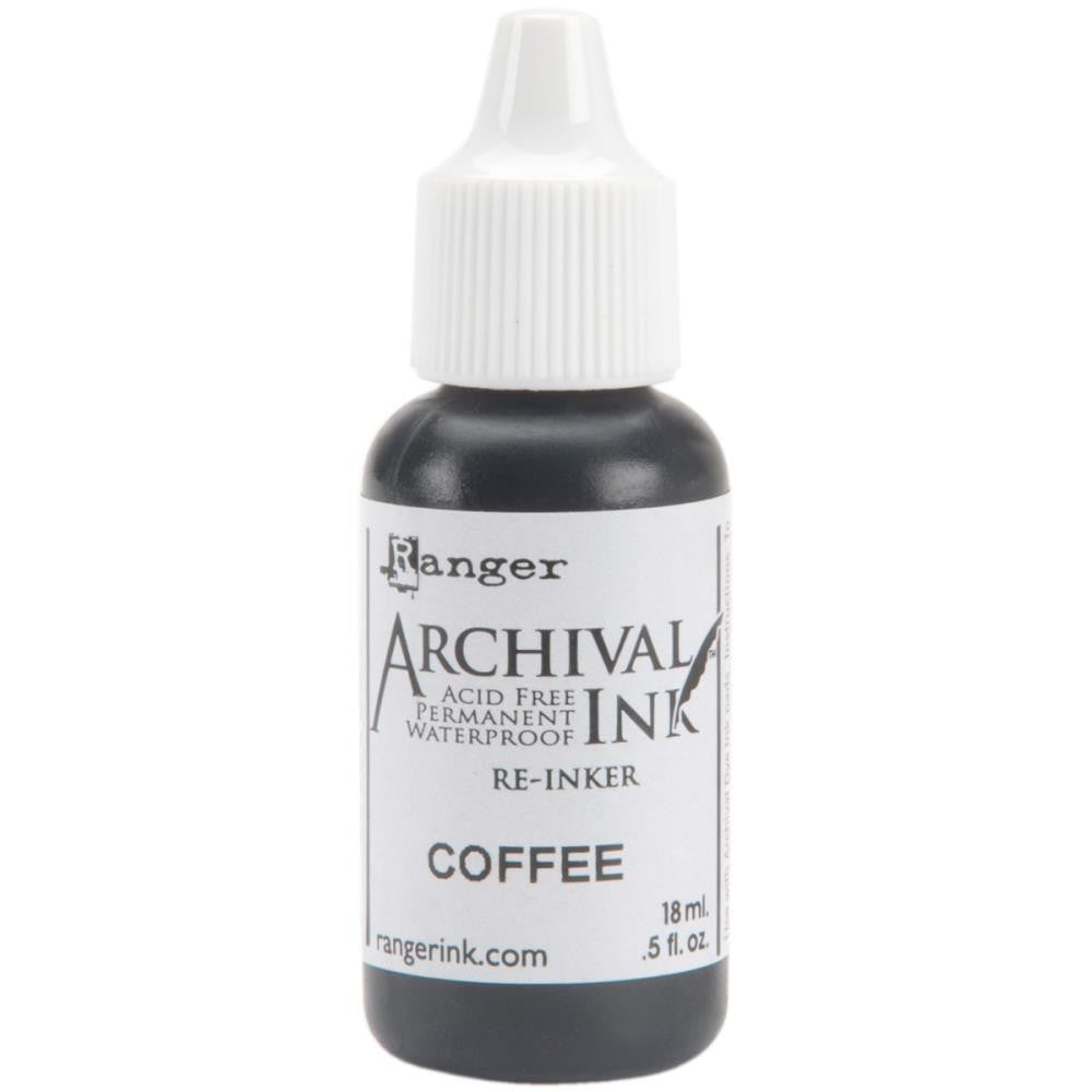 Ranger- Archival Ink Reinker  - Coffee