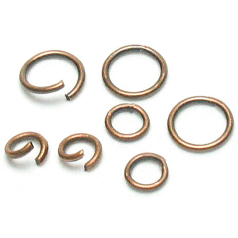 Jewelry Basics Metal Findings - Copper Jump Rings 4mm/6mm 400pcs