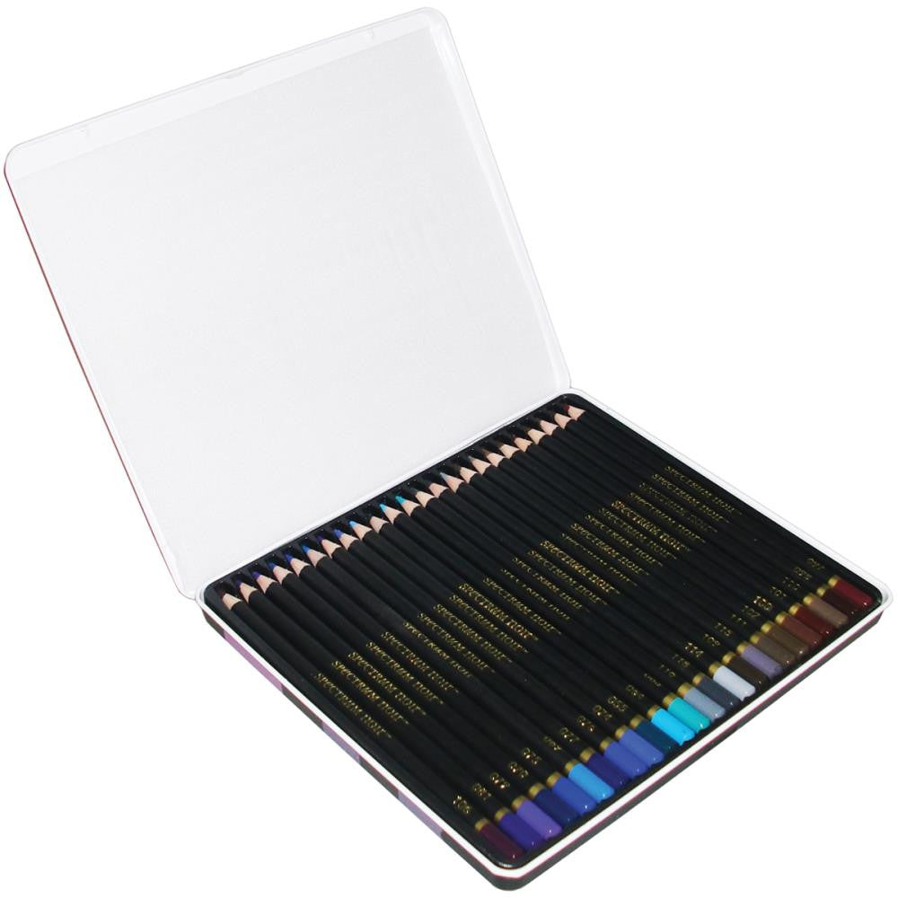 Spectrum Noir Blendable Pencils 24pc Set - Marine