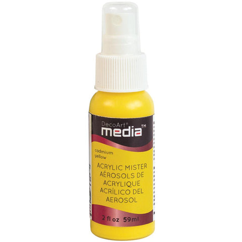 Deco Art Media Acrylic Mister 2oz - Primary Yellow