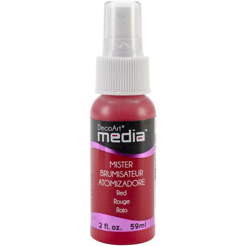 Deco Art Media Acrylic Mister 2oz - Red