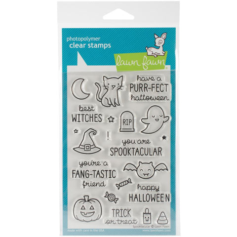 "Lawn Fawn Clear Stamps - Spooktacular 4"" x 6"""