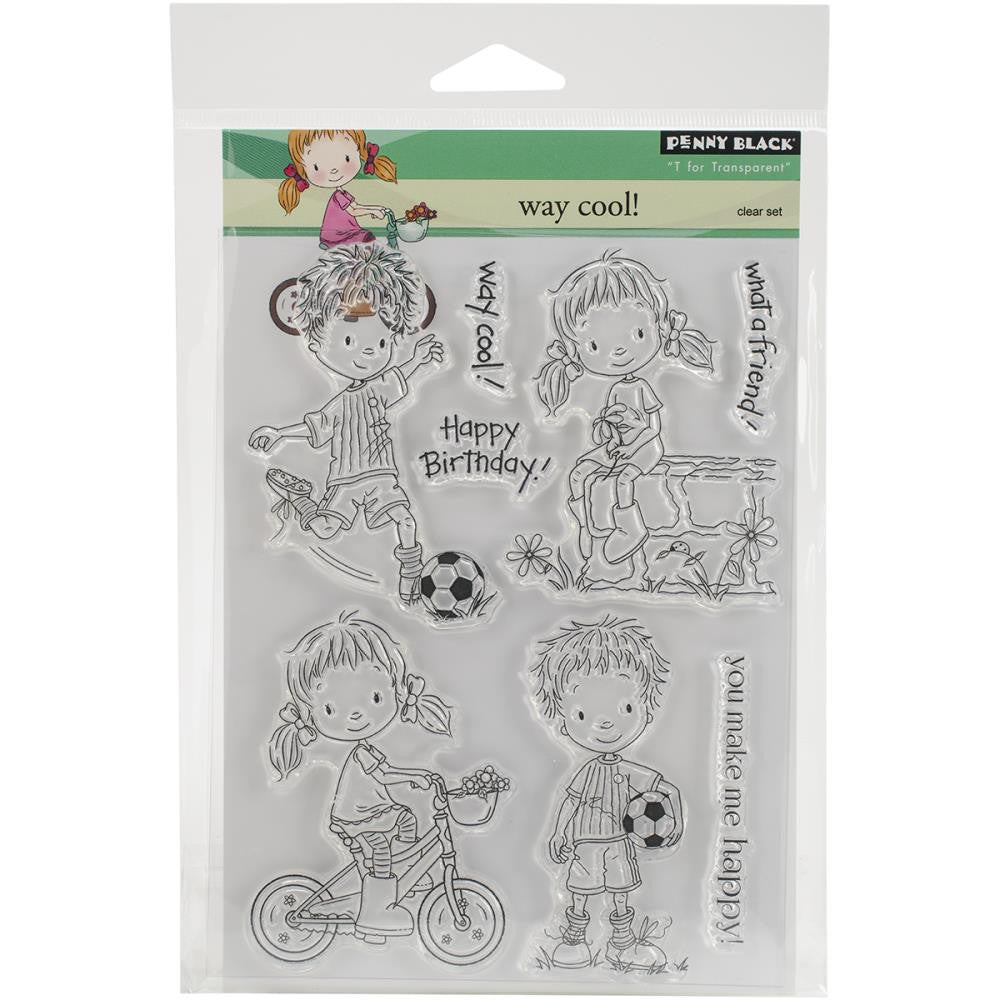 Penny Black Clear Stamp Sheet - Way Cool
