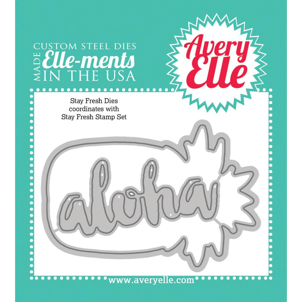 "Avery Elle Ellements Die Set - Stay Fresh  (Coordinates With ""Stay Fresh"" Stamp Set)"