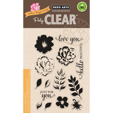 Hero Arts, Color Layering Clear Stamps - For You Flowers
