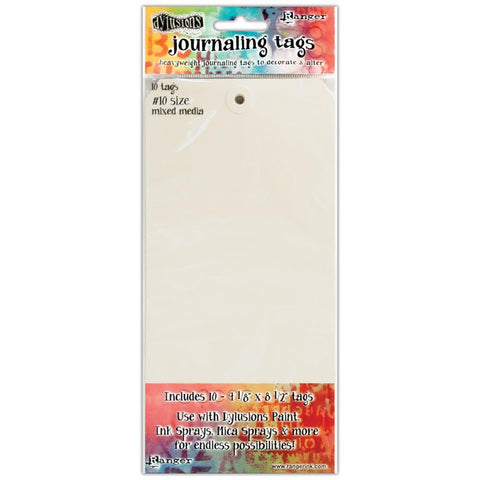 Dylusions, Dyan Reaveley's Journal Tags 10/Pkg - Media Paper #10