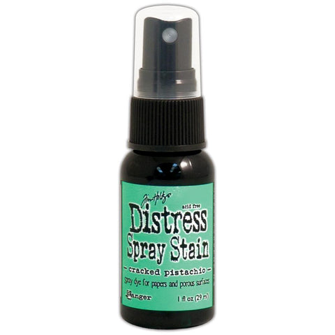***New Item*** Ranger - Tim Holtz Distress Spray Stains 1oz - January Color of the Month!  Cracked Pistachio