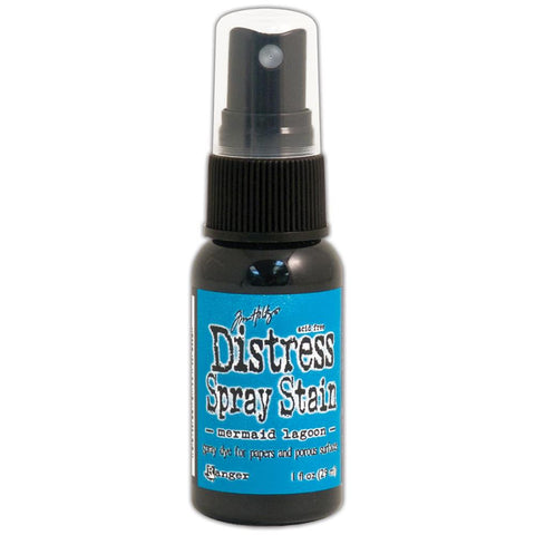 ***New Item*** Ranger - Tim Holtz Distress Spray Stains 1oz - March Color of the Month! Mermaid Lagoon