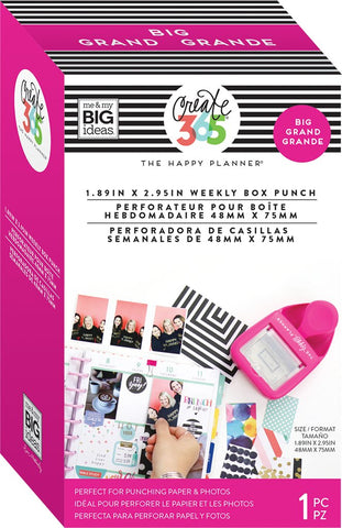 Me & My Big Ideas - Create 365 The Happy Planner - Big Weekly Box Punch