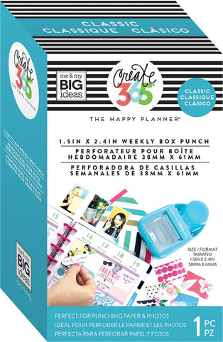 Me & My Big Ideas - Create 365 The Happy Planner - Classic Weekly Box Punch