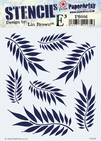 ***New Item*** Paper Artsy - ELB Stencil PS006