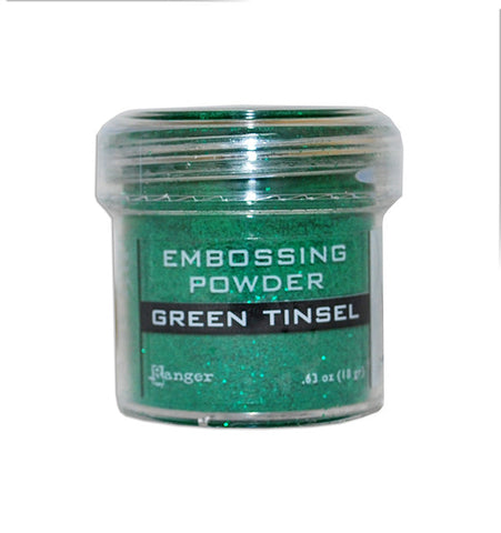Ranger - Speciality 1 Embossing Powder - Green Tinsel