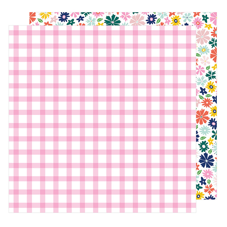 American Crafts - Star Gazer Double-Sided Cardstock - Happy
