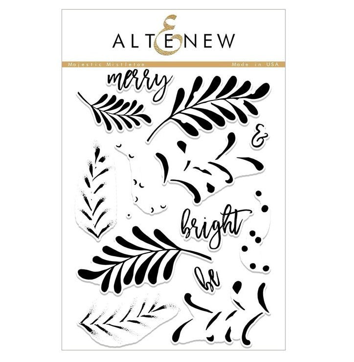 "Altenew - 6"" x 8"" Stamp Set - Majestic Mistletoe"