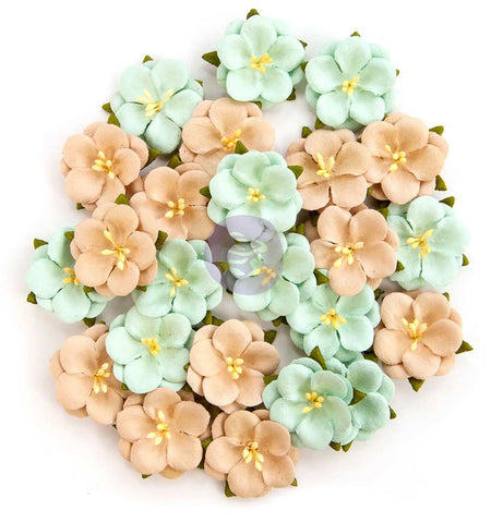 Prima Marketing - Zella Teal Flowers - Bliss Delight