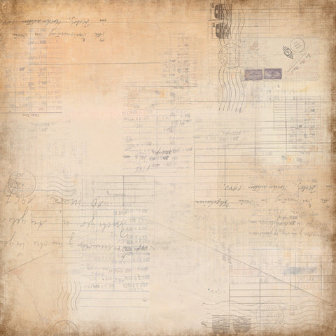 "7 Dot Studio Designer Paper - Thoughts Keeper #4 12"" x 12"" Double Sided"
