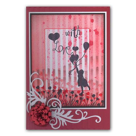 Clarity Stamp - Stamp Set - Love is in the Air (Unmounted)