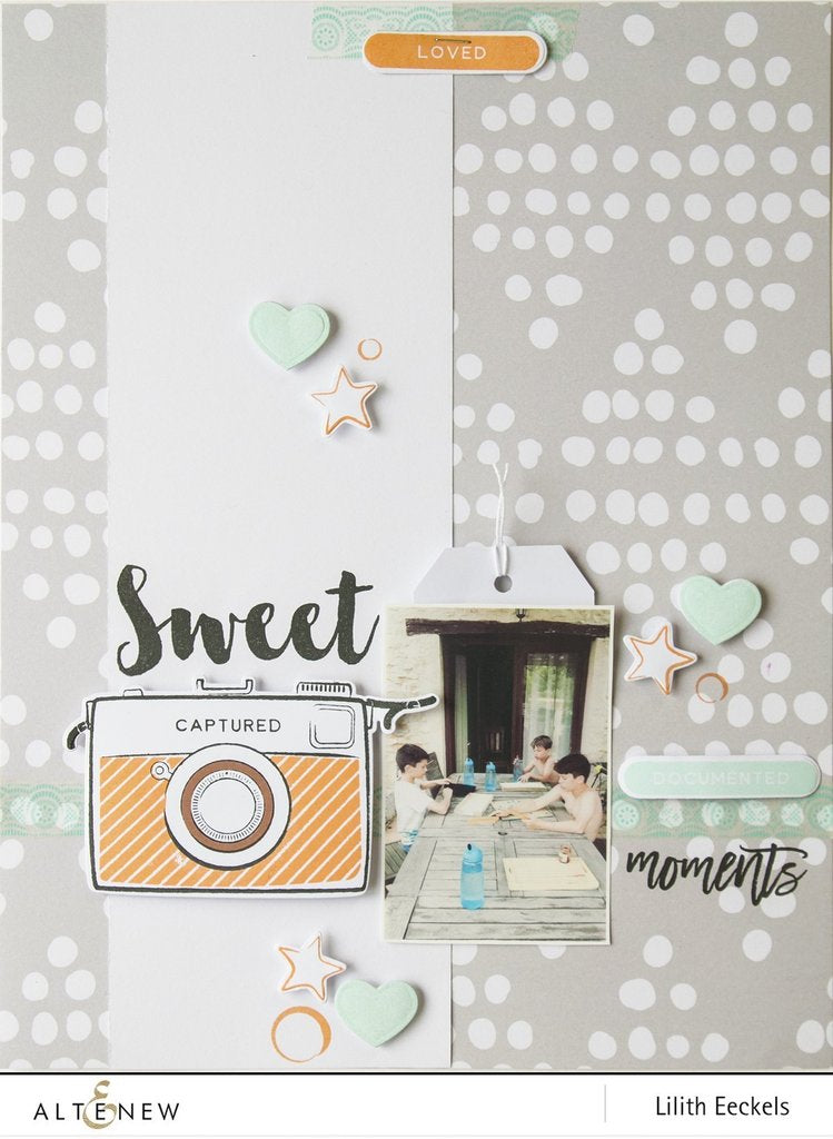 Altenew - Snapshots Stamp Set