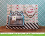 "Lawn Fawn - Lawn Cuts Custom Craft Dies - Sprinkled with Joy Add-on (coordinates with ""Sprinkled with Joy"" Stamp Set) Sprinkled With Joy Add-On"
